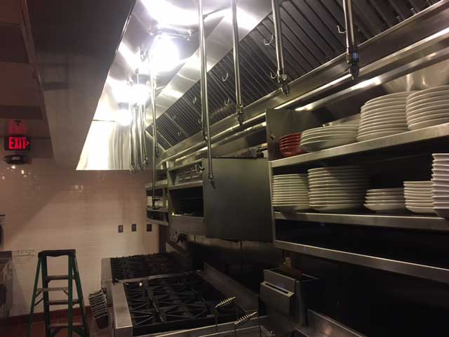 Exhaust Hood Cleaning photo