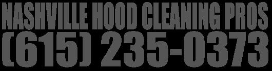 Nashville Hood Cleaning Pros